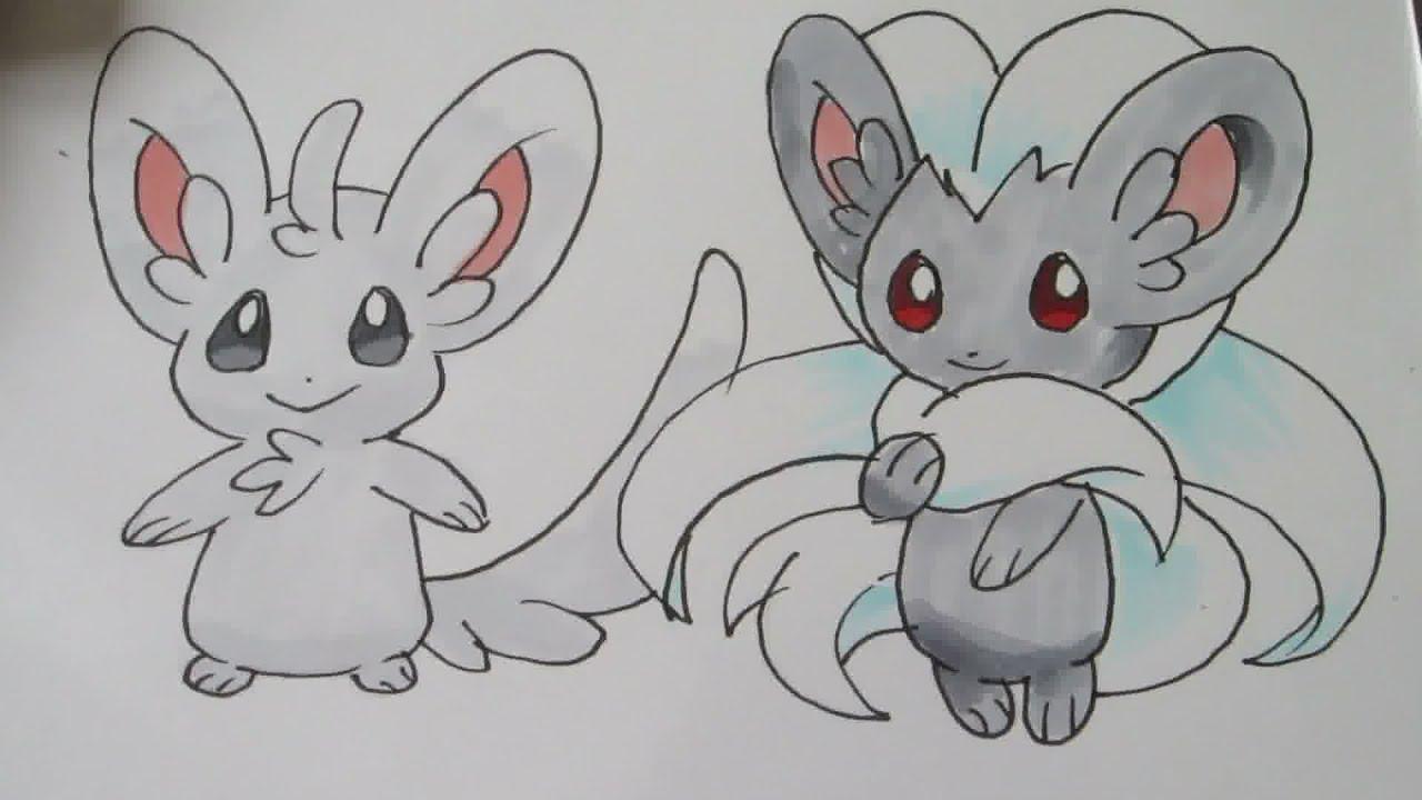 pokemon coloring pages minccino - photo#33