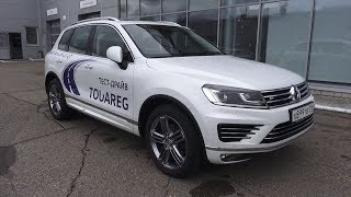Best 4X4 Ever Volkswagen Toureg 2017 R-line. Start Up, Engine, and In Depth Tour.. MegaRetr