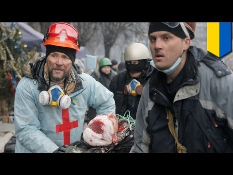 Ukraine Protest 2014: Deadly clashes end 'truce'