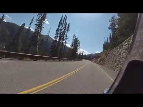 Biker Lawyer rides Yellowstone National Park 8-2013 part 1