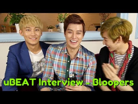 uBEAT Interview - Bloopers!