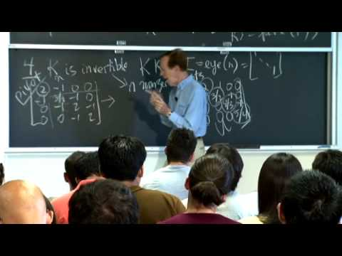 Lec 1 | MIT 18.085 Computational Science and Engineering I, Fall 2008
