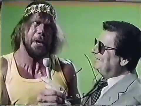 Macho Man Randy Savage Interview (06-29-1985)