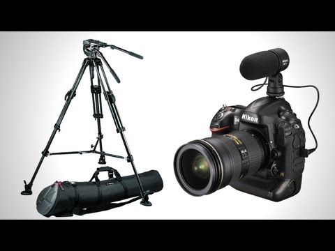 DSLR Tutorial: How to shoot an interview! (3 film techniques)
