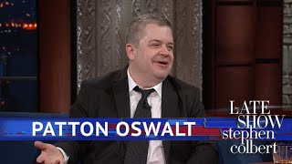 Patton Oswalt Discusses Dungeons & Dragons Over Drinks
