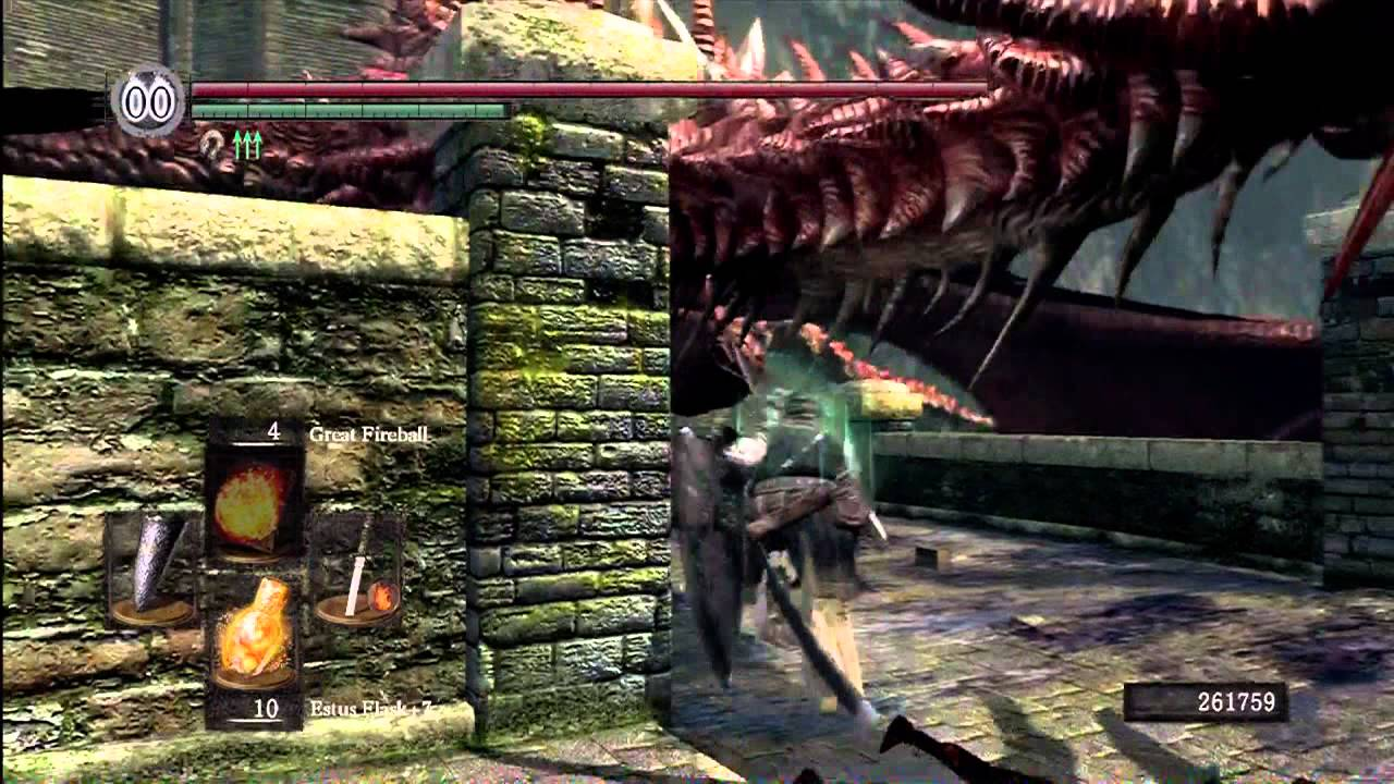 how to get the red drake dark souls 1