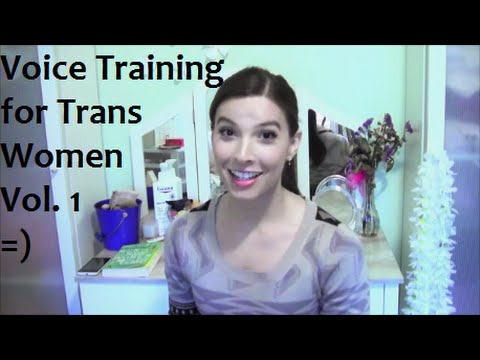 Voice training for Trans Women Vol 1 -  Our Trans Journey
