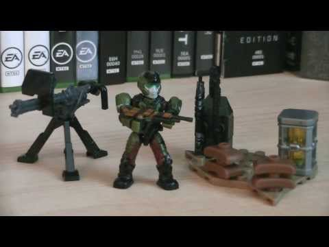 Halo Mega Bloks 97207 UNSC Weapons Pack II Review