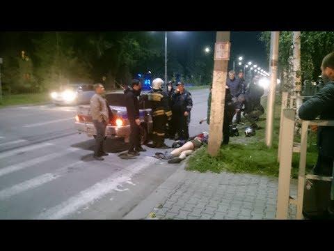 В Бердске в столкновении с автомобилем погиб мотоциклист