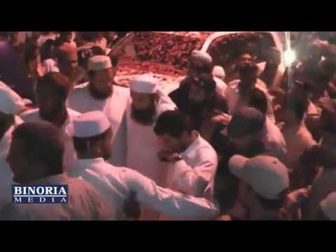 Maulana Tariq Jameel - Karwan e Aman Historical Welcome Layari 30July 2011