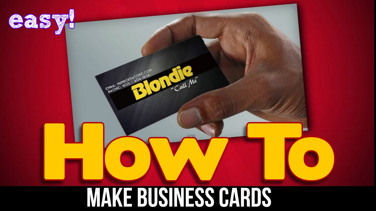 The Business Card Creator Software