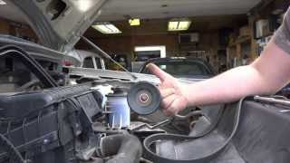 DIY How To Replace A Serpentine Belt