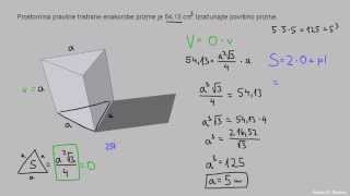 Naloga 10 – Prizma – trikotnik