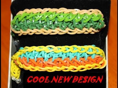 TRY THIS RAINBOW LOOM DESIGN - SAILORS KNOT - YouTube