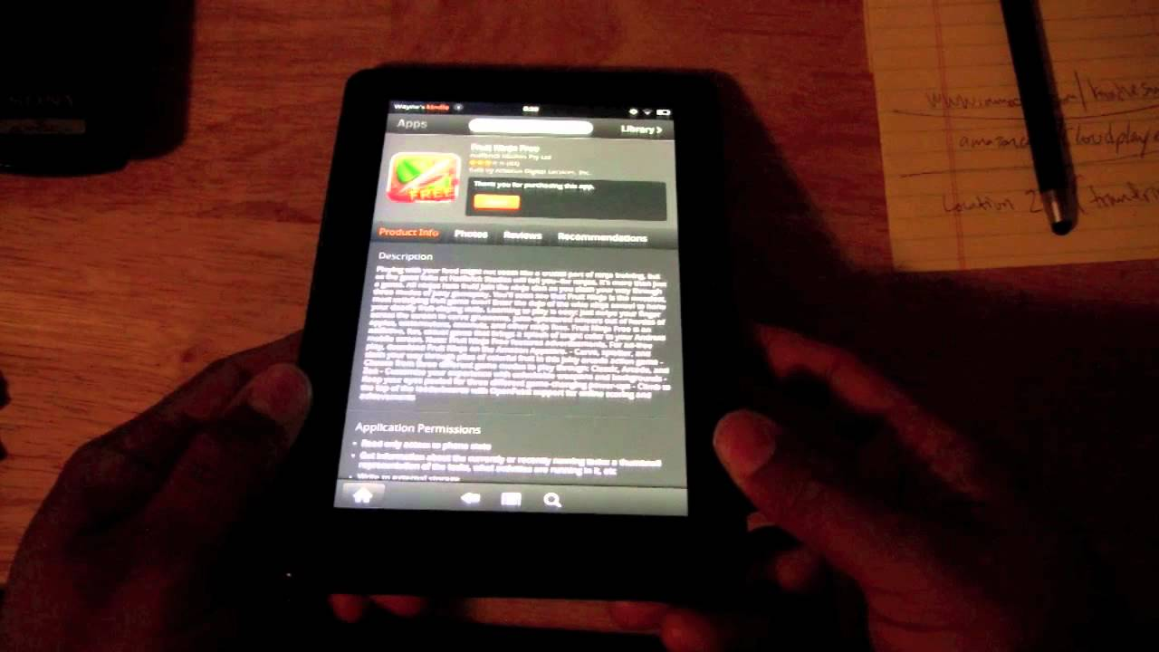 how to download apps on kindle paperwhite