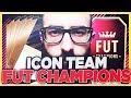 FULL ICON TEAM VS FUT CHAMPIONS