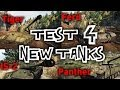 War Thunder || Test Server 4 - New Tanks