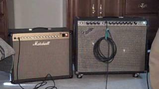 Marshall JTM 60 & Fender Twin Reverb Comparison Review