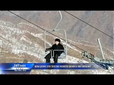 Kim Jong Un Tours North Korea Ski Resort