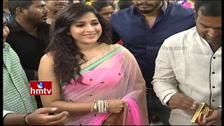 Jabardasth Rashmi Launches Chervi SuperMarket in Hyderabad