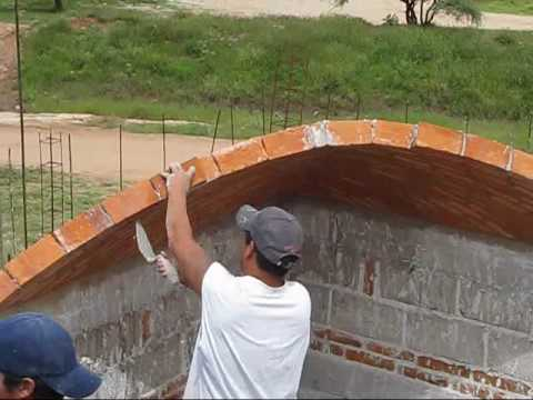 Impressively Hand Made Brick Dome Construction