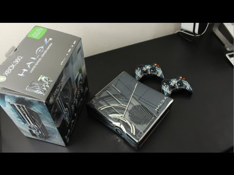 Halo 4 Limited Edition Xbox 360 Bundle Unboxing & First Look