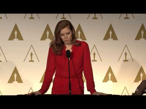 Amy Adams at the 86th Oscars® Nominees Luncheon