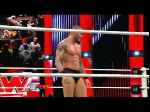 RTL9 RAW DANIEL BRYAN VS RANDY ORTON NO DISQUALIFICATION MATCH