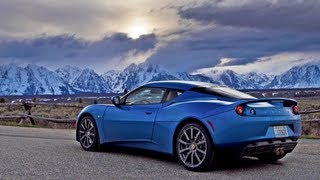 2011 Lotus Evora Carves Up The Rockies - Epic Drives Episode 2