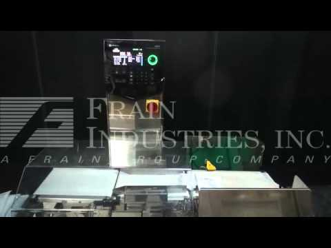 Ishida DACS, automatic, three zone, stainless steel checkweigher