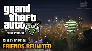 GTA 5 Mission #21 Friends Reunited [First Person Gold