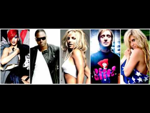 Britney Spears vs. Kesha, Taio Cruz, Rihanna, David Guetta - Hold It Against Me (Megamix Mash-Up)