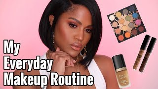 MY EVERYDAY ROSE GOLD MAKEUP ROUTINE | MAKEUPSHAYLA