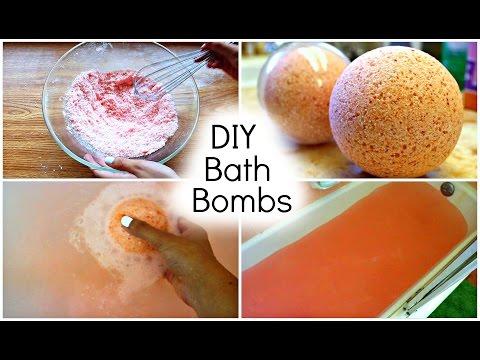 DIY Lush Bath Bombs! (+ Demo)