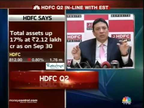 HDFC posts 19% loan growth in Q2: Keki Mistry -  Part 3