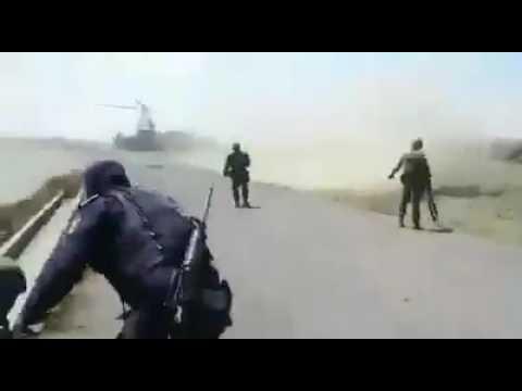 Vuelca convoy de la Policía Militar en Palmar de Bravo
