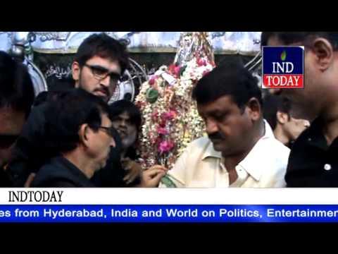 Moharram 2014 | Congress TDP leaders visit Bibi Ka Alawa Hyderabad