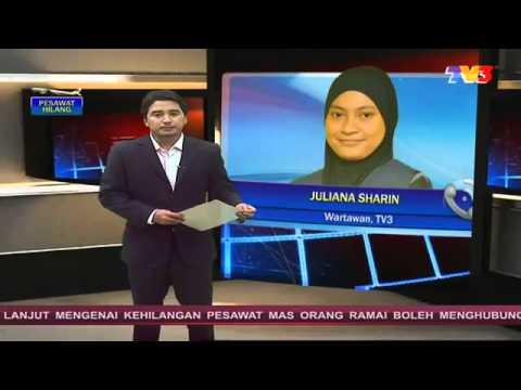TERKINI! Pesawat Malaysia Airlines Boeing MH370 Hilang