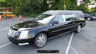 2011 Cadillac DTS Hearse (Halloween Special) Start Up, Exhaust, and In Depth Review videos