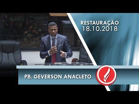 Noite da Restauração - Pb. Geverson Anacleto - 18 10 2018