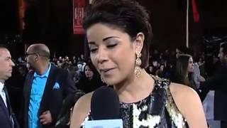 ليلى حديوي سفيرة القفطان بمهرجان مراكش   خارج البلاطو