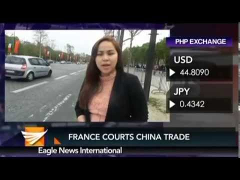 FRANCE COURTS CHINA TRADE -  IVY HERNANDEZ REPORTS