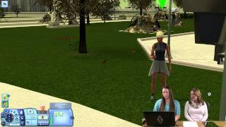 The Sims 3 Into the Future - Bug Collecting in Dystopia