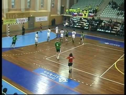 Andebol :: Sporting CP - 25 x HC Zubri  - 22 de 2011/2012 Challenge Cup