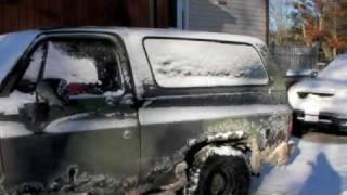 1984 Chevrolet M1009 K5 Blazer Cold Start 6.2L Diesel