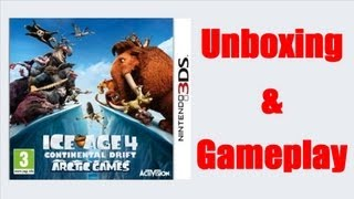 Ice Age 4 Continental Drift Arctic Games Nintendo 3DS