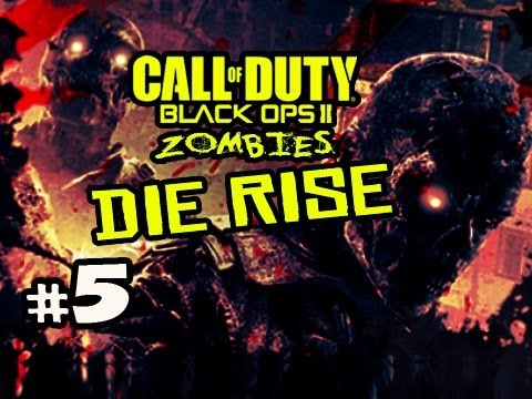 THE DIVE SCREWJOB - Die Rise Zombies Black Ops 2 w/ Kootra Ep.5