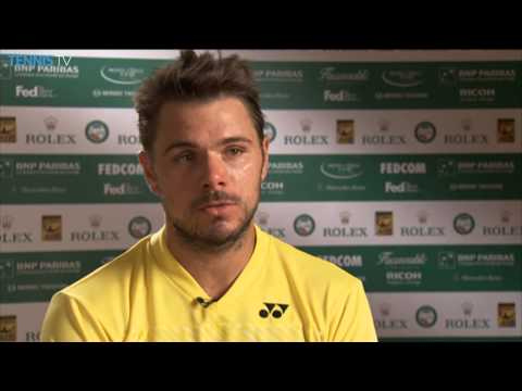 Monte-Carlo 2014 Saturday Interview Wawrinka