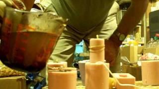BEESWAX,Melting Bees Wax,Molds,Candle Making,GA Beekeeping