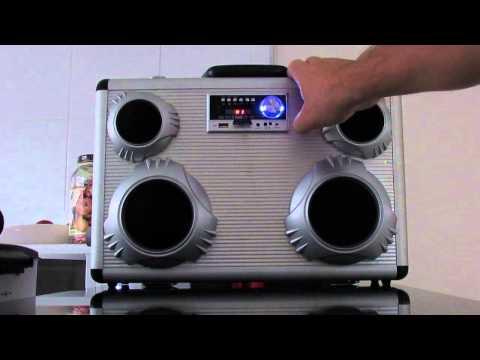 Som MP3 feito em casa, paredão de som